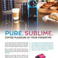 Nespresso Inissia Coffee Machine Promotion 24 May - 30 Jun 2015