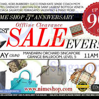 Read more about Nimeshop Branded Handbags Sale @ Mandarin Orchard 10 May 2015