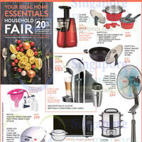 Read more about OG Home Essentials Household Fair 14 - 27 May 2015