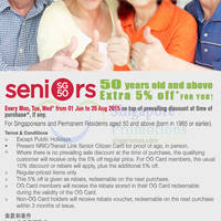 Read more about OG 5% OFF Storewide for Seniors (Mon-Wed) 1 Jun - 26 Aug 2015