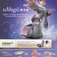 Read more about Osim Massagers Mother's Day Specials & Roadshows 8 - 10 May 2015