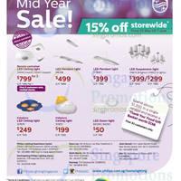 Philips Lightings Mid Year Sale 23 May - 7 Jun 2015