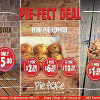 Read more about Pie Face Pie-Fect Deal 22 May 2015