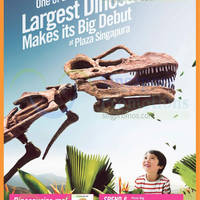 Read more about Plaza Singapura Dinosaur Exhibit & Other GSS Promotions 31 May - 28 Jun 2015