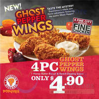 Read more about Popeyes New Ghost Pepper Wings 11 May 2015