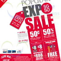 Read more about Popular Expo SG50 Sale @ Singapore Expo 29 - 31 May 2015