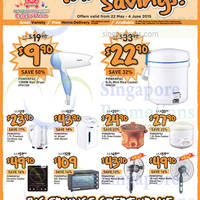 Giant Hypermarket Appliances, TVs, Electric Scooters & More Offers 22 May - 4 Jun 2015