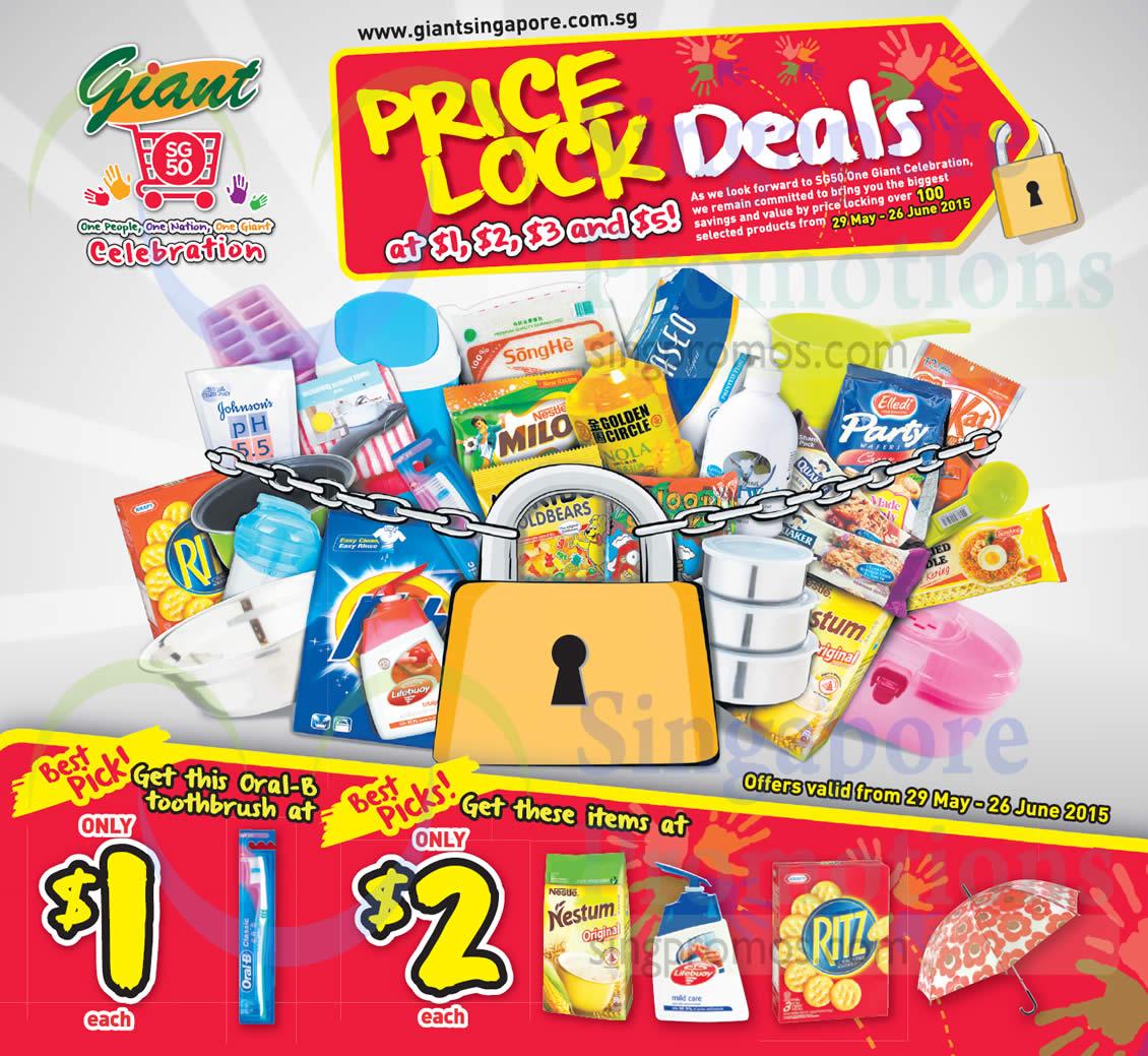 Price Lock Deals Best Picks