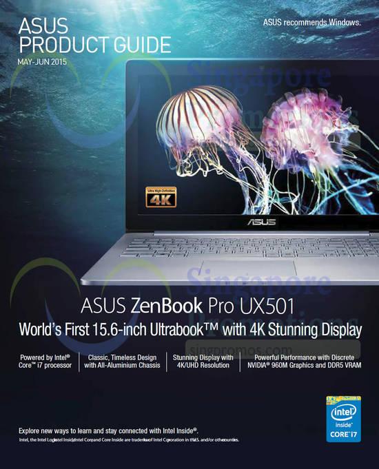 ASUS ZenBook Pro UX501 Notebook