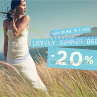 Promod 20% Off Summer Dresses Promotion 20 May - 1 Jun 2015