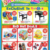 "Toys ""R"" Us Hot Outdoor Deals Promotion 7 May - 1 Jun 2015"