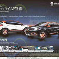 Read more about Renault Captur Flamme Edition Offer 16 May 2015