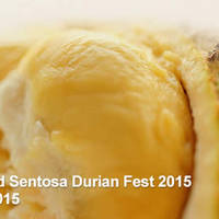 Resorts World Sentosa Durian Fest 10 - 11 Jul 2015