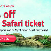 Read more about River Safari 50% Off Tickets Promo 8 May - 31 Jul 2015
