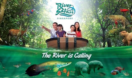 River Safari & Singapore Zoo 50% Off Tickets SG50 Promo 1 - 31 Aug ...