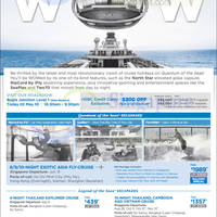 Royal Caribbean Roadshow @ Bugis Junction 5 - 10 May 2015
