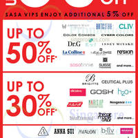 Sasa Great Singapore Sale Promotion 30 May - 26 Jul 2015