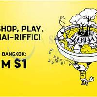 Read more about Scoot $1 Bangkok Promo Fares 11 - 17 May 2015