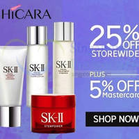 Shicara 30% OFF SK-II Facial Treatment Essence & More (NO Min Spend) 1-Day Coupon Code 30 Jun 2015