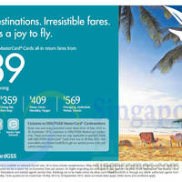 Read more about SilkAir fr $209 Promo Fares For DBS/POSB Cardmembers 15 - 28 May 2015
