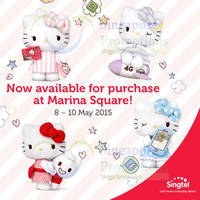 Read more about Singtel Prepaid Hello Kitty Plush Toys Now Available (No Purchase Req) @ Marina Square 8 May 2015