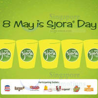 KFC, Carl's Jr & Texas Chicken FREE Sjora With Any Purchase 1-Day Promo 8 May 2015