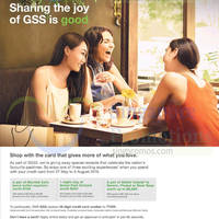 Standard Chartered Credit Cards Spend & Redeem 30 May - 9 Aug 2015