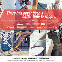 Read more about Asics, MBT, Naturalizer, Onitsuka Tiger, Starthreesixty Up To 40% Off Promotion 21 May - 29 Jul 2015