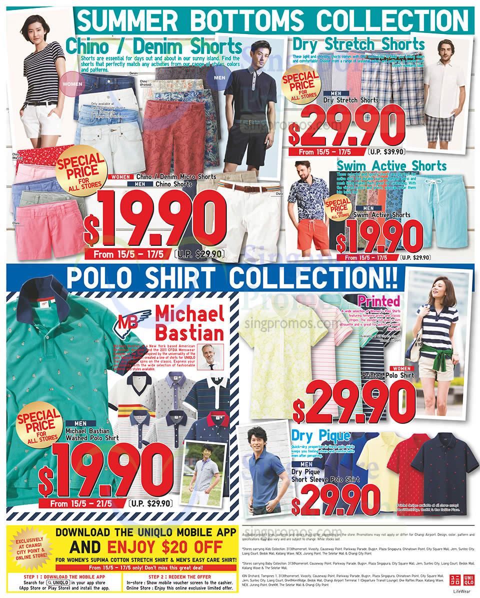 Summer Bottoms, Polo Shirt