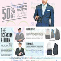 Read more about T.M.Lewin 50% Off Men's Suits & More 26 May 2015