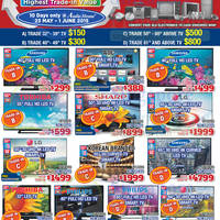 Audio House Electronics, TV, Notebooks & Appliances Offers 23 May - 1 Jun 2015