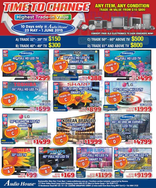 Samsung UA40F5300 TV, Samsung UA46F5300 TV, LG 65LA9650 TV, LG 55LA9650 TV, Samsung UA65F9000 TV, LG 84LM9600 TV