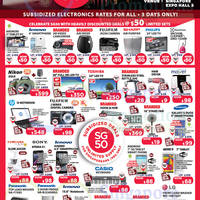 SG50 Electronics Fair @ Singapore Expo 8 - 10 May 2015