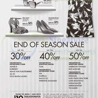 Read more about Takashimaya Fashion Brands End of Season Sale 30 May - 11 Jun 2015