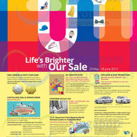 Read more about Tampines Mall Life's Brighter Promotions & Activities 31 May - 28 Jun 2015