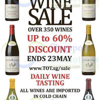 Read more about Taste of Tradition Big Wine Sale 7 - 23 May 2015