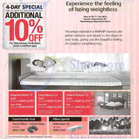 Read more about Takashimaya Mattresses Special Offers 21 May - 11 Jun 2015