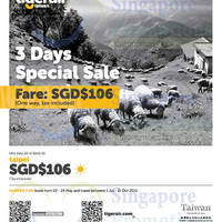 Read more about Tigerair Taipei 3 Days Special Sale 22 - 24 May 2015