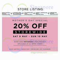 Read more about Tracyeinny 20% OFF Storewide Sale 9 - 11 May 2015