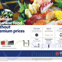 UOB Japanese Dining Offers 29 May 2015