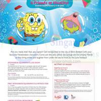 Read more about VivoCity Spongebob Squarepants Activities & Promotions 1 - 14 Jun 2015