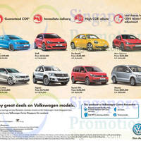 Read more about Volkswagen Sharan, Touran TDI, Tiguan, Jetta, Scirocco, Beetle, Golf, Polo Offers 23 May 2015