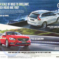 Read more about Volvo XC60 & Volvo S60 Offers 23 May 2015