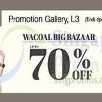 Read more about Wacoal Promotion @ Isetan Scotts 1 - 7 May 2015