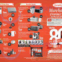 Read more about Europace Warehouse Clearance Sale 29 May - 1 Jun 2015