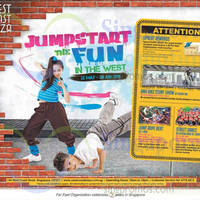 Read more about West Coast Plaza Jumpstart The Fun in the West Promotions & Activities 22 May - 28 Jun 2015