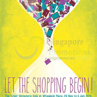 Read more about Wheelock Place GSS Promotions 31 May - 5 Jul 2015