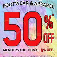 Read more about World of Sports 50% Off Footwear & Apparel Promo @ Selected Outlets 15 May 2015