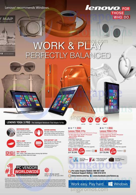 Lenovo YOGA 3 Pro Notebook
