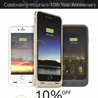 Read more about mophie 10% off iPhone 6 & iPhone 6 Promotion 7 - 31 May 2015